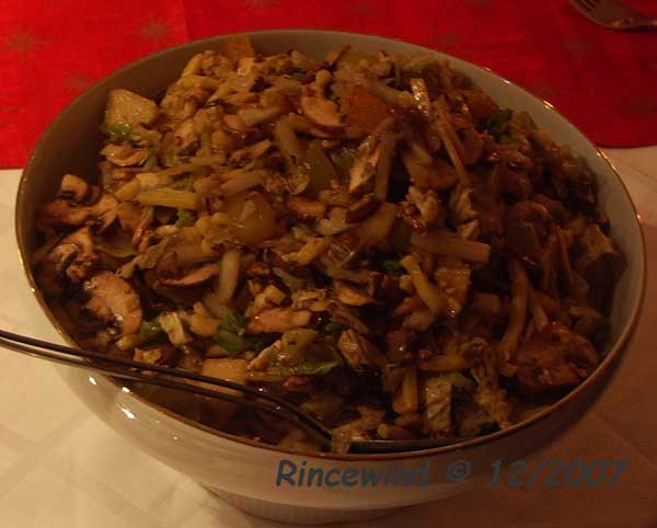Chinakohlsalat mit Kürbiskernöl